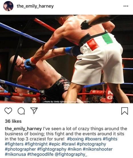 Brendan Barrett, CES Boxing