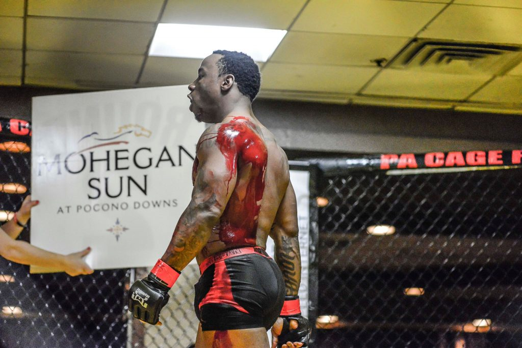 Omar Kellom - PA Cage Fight 31 - March 31, 2018 Phoot by William McKee