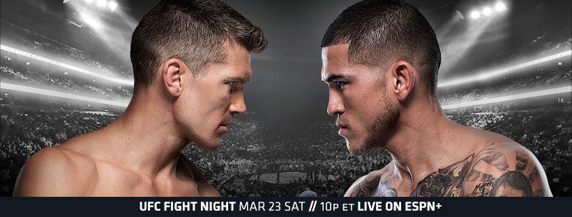 UFC Nashville Results - Pettis vs. Thompson
