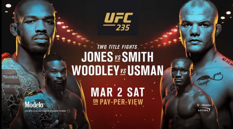 UFC 235 results - Jones vs. Smith, Woodley vs. Usman