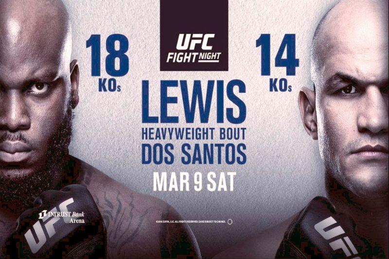 UFC Wichita weigh-in results - Lewis vs. Dos Santos