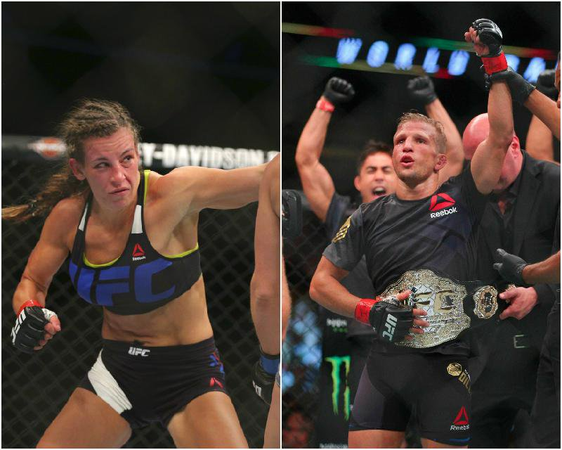 Miesha Tate believes TJ Dillashaw's case could be similar to Jon Jones'