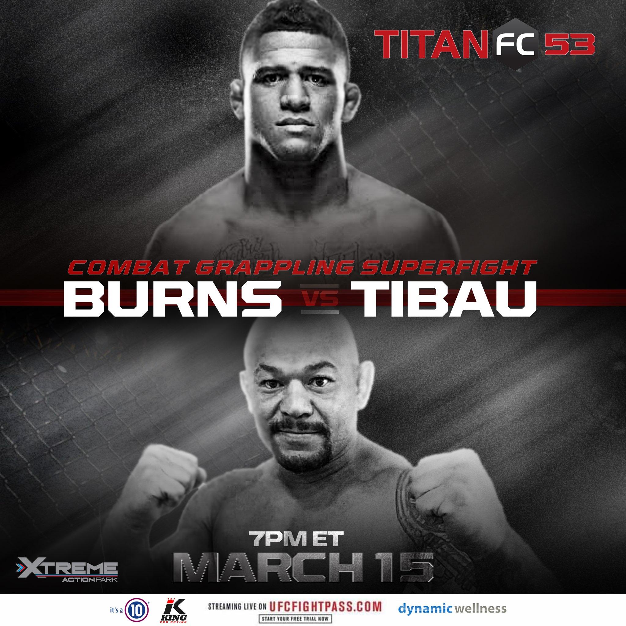 Titan FC 53, Titan FC Combat Grappling