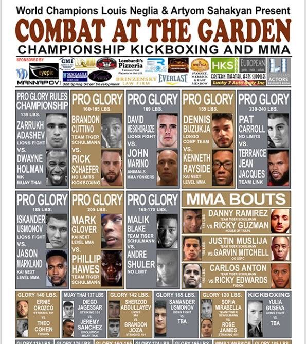 Combat at the Garden
