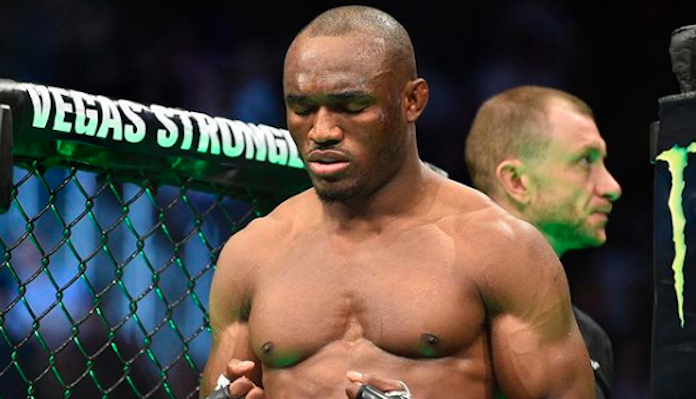 Kamaru Usman Recovering From Hernia Surgery