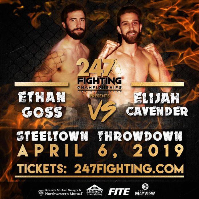 Ethan Goss, 247 Fighting Championship