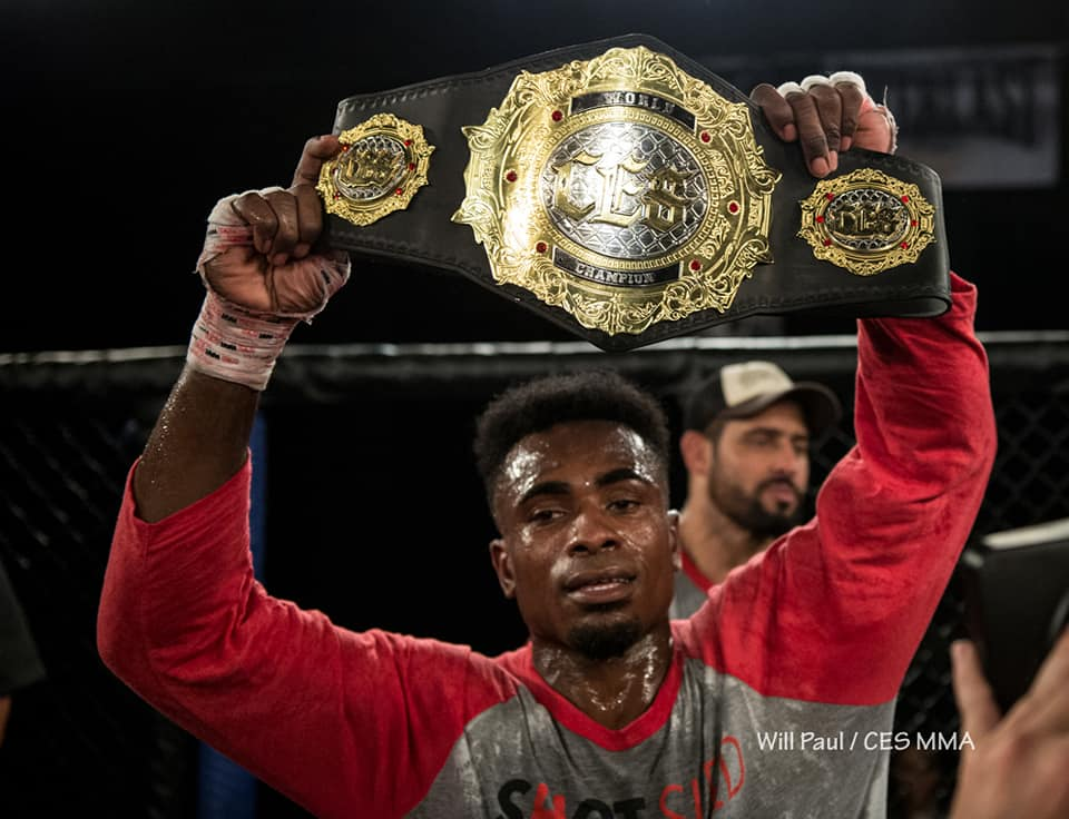 Jeremiah Wells - Photo courtesy of CES MMA and CES MMA Photographer Will Paul