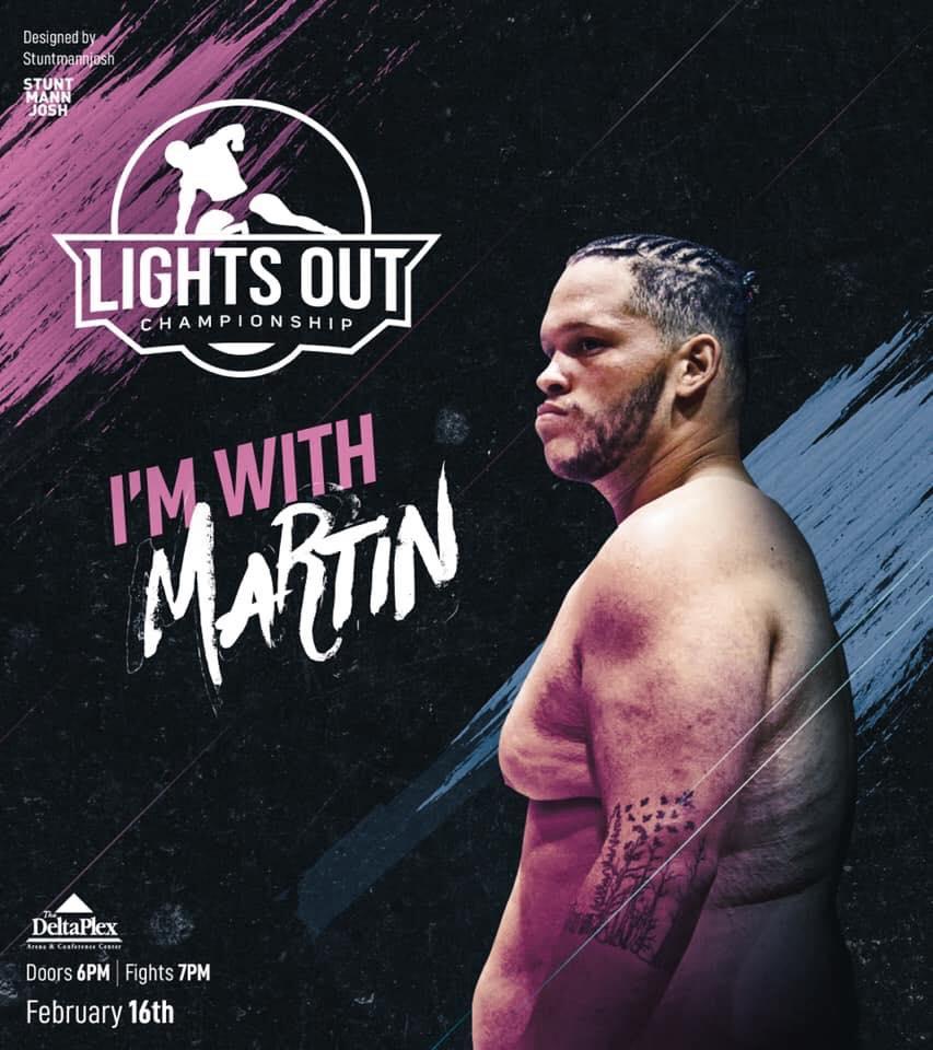 Brett Martin, Lights Out Championship