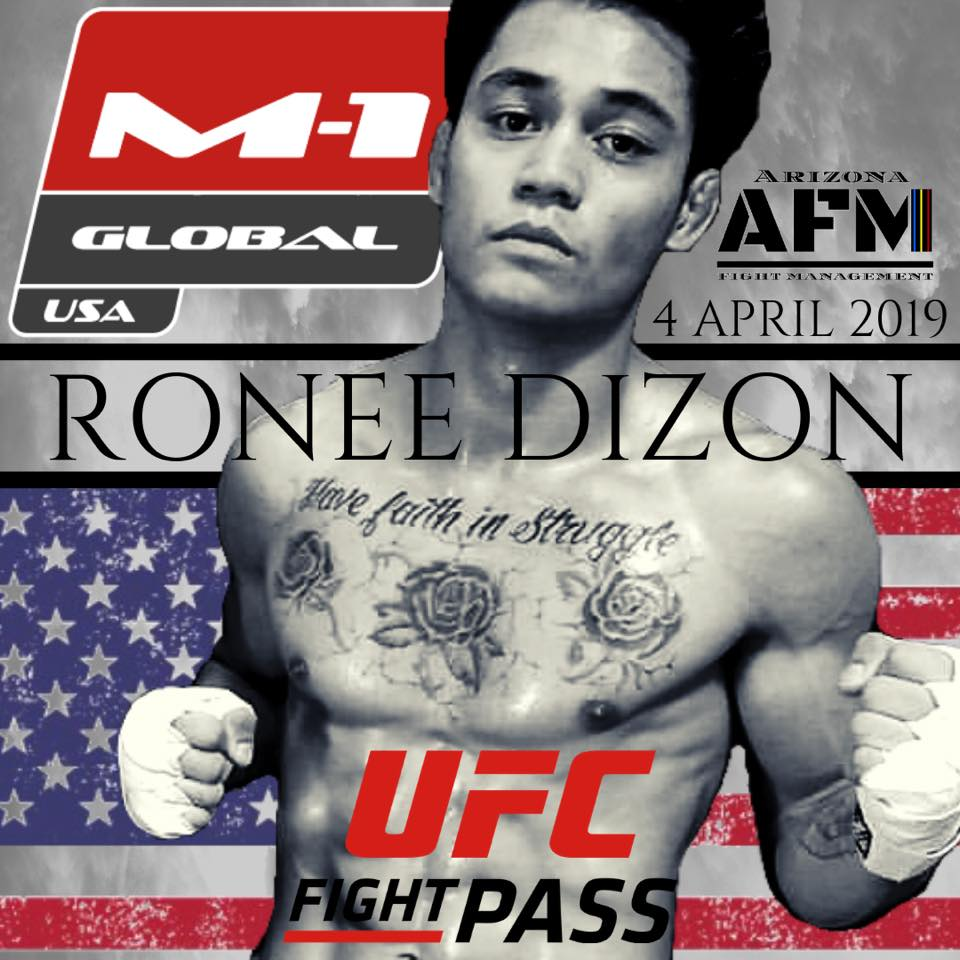 Ronee Dizon, Road to M-1 USA 2
