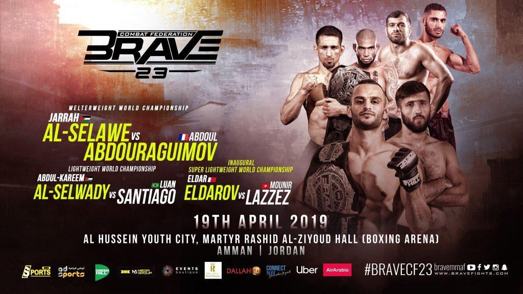 Brave 23 - Jarrah Al-Selawe vs Abdoul Abdouragimov