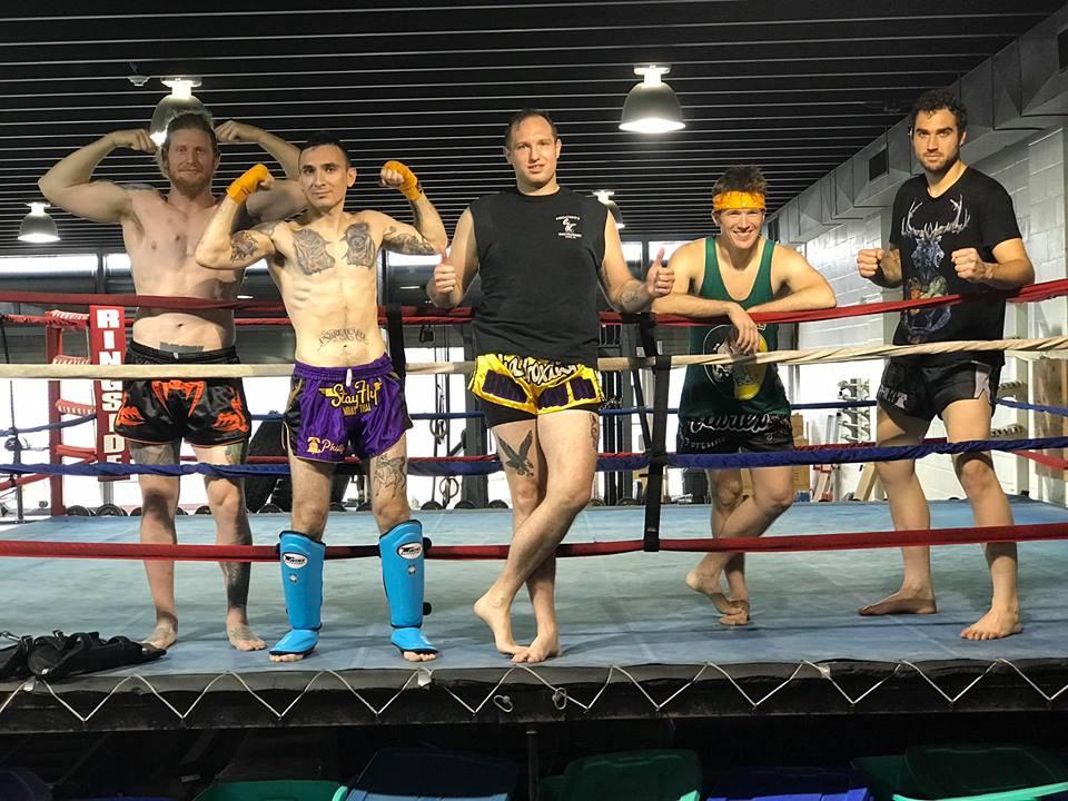 Heavy Hitters Thai Boxing from Michael Rakay