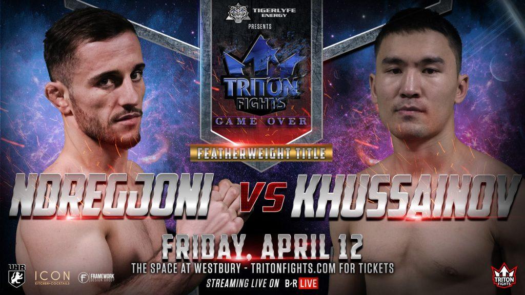 Triton Fights 12 Live Results: Ndregjoni vs. Khussainov; Kline vs. Charlebois