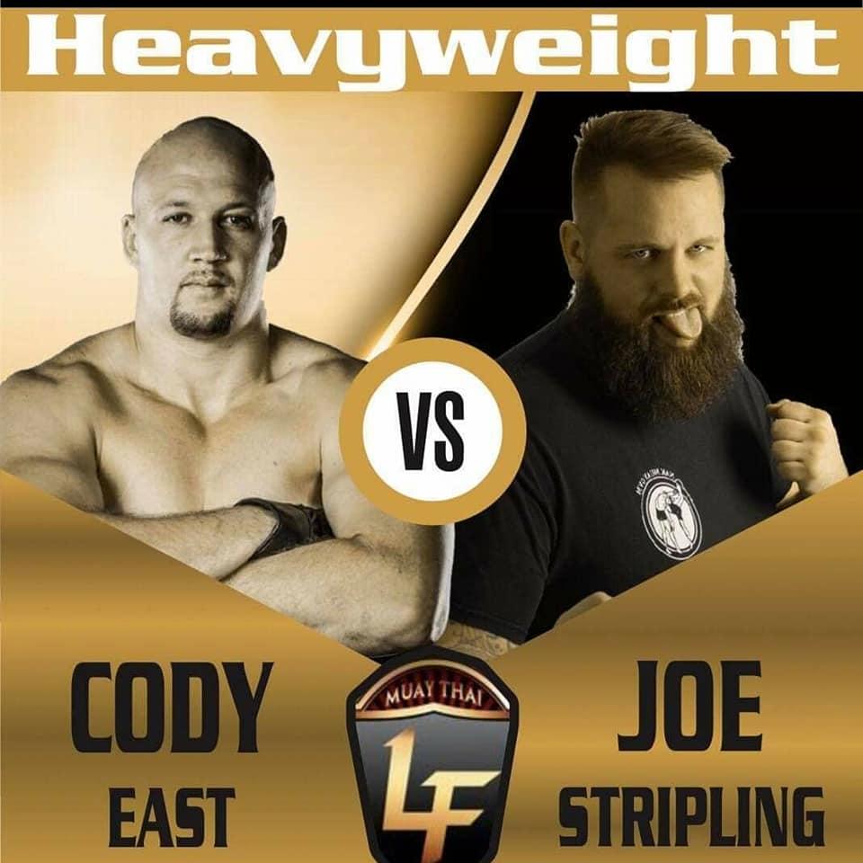 Cody East, Lion Fight, Joe Stripling