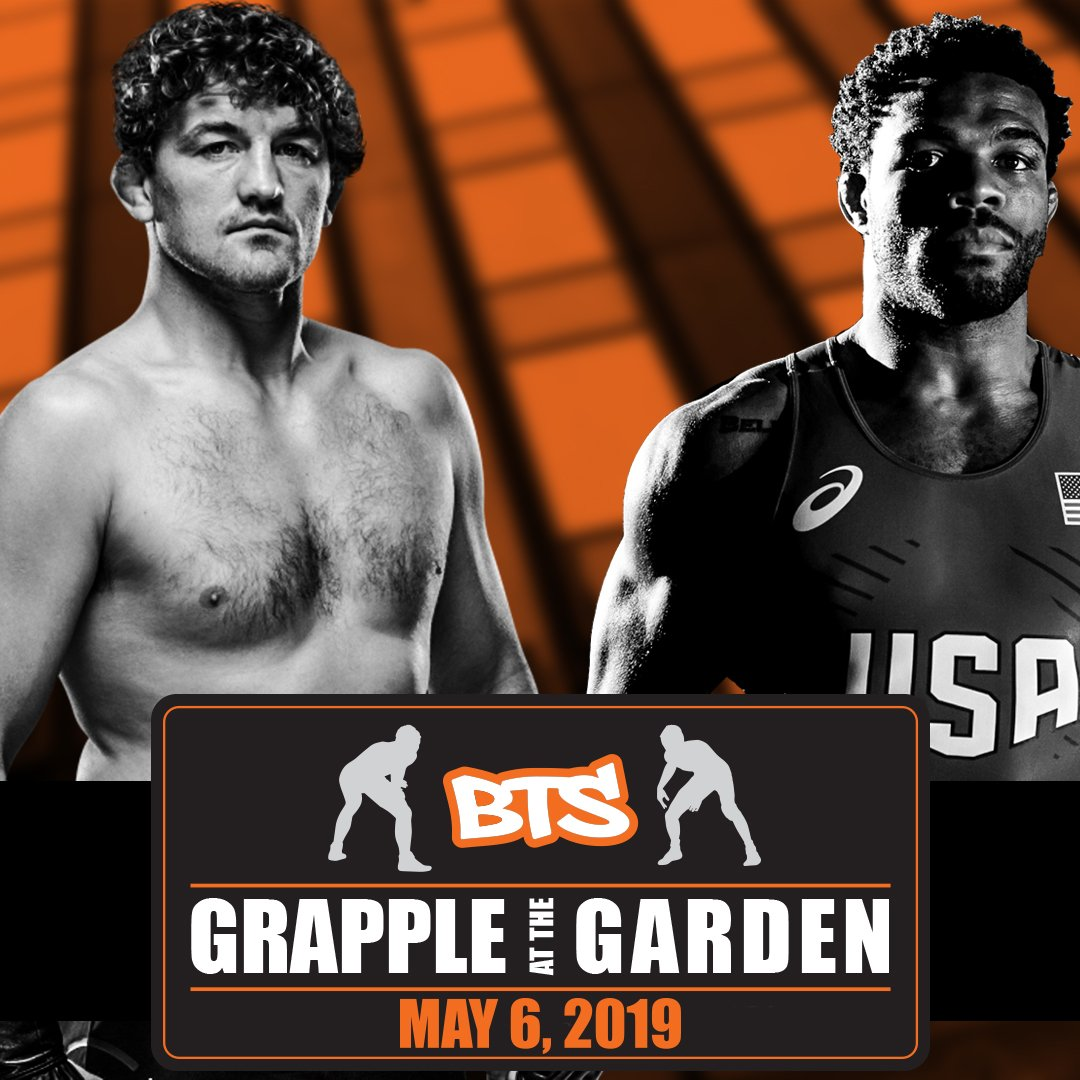 Olympians Jordan Burroughs, Ben Askren To Battle For First Time May 6 At Beat the Streets
