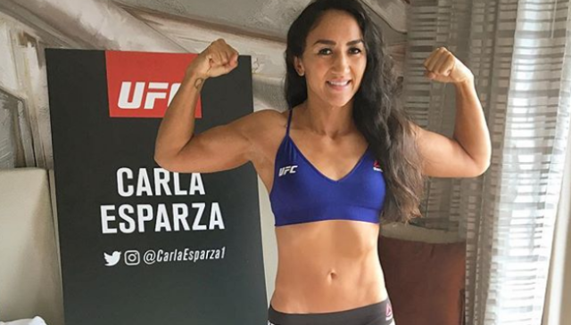 Carla Esparza Faces New Challenge