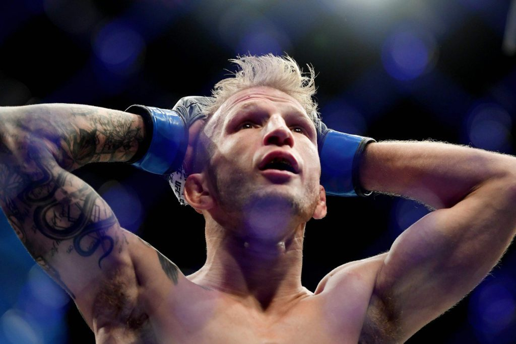 TJ Dillashaw suspended 2 years by USADA for EPO use