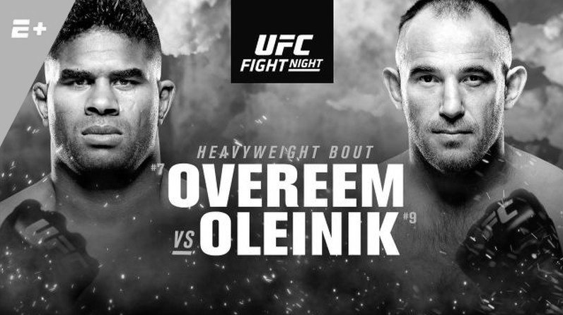 UFC Fight Night: Overeem vs. Oleinik results - UFC Saint Petersburg