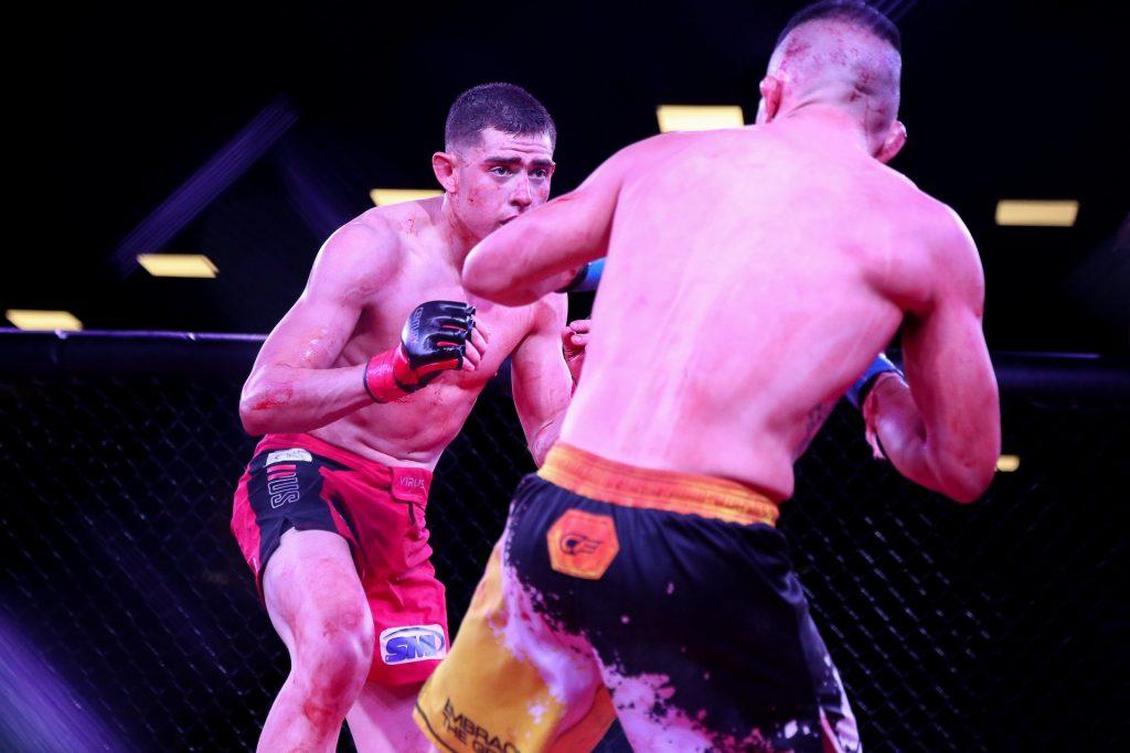 JW Fight Night, Steve Garcia