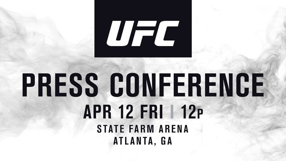 UFC Seasonal Press Conference - 12pm on Friday, April 12
