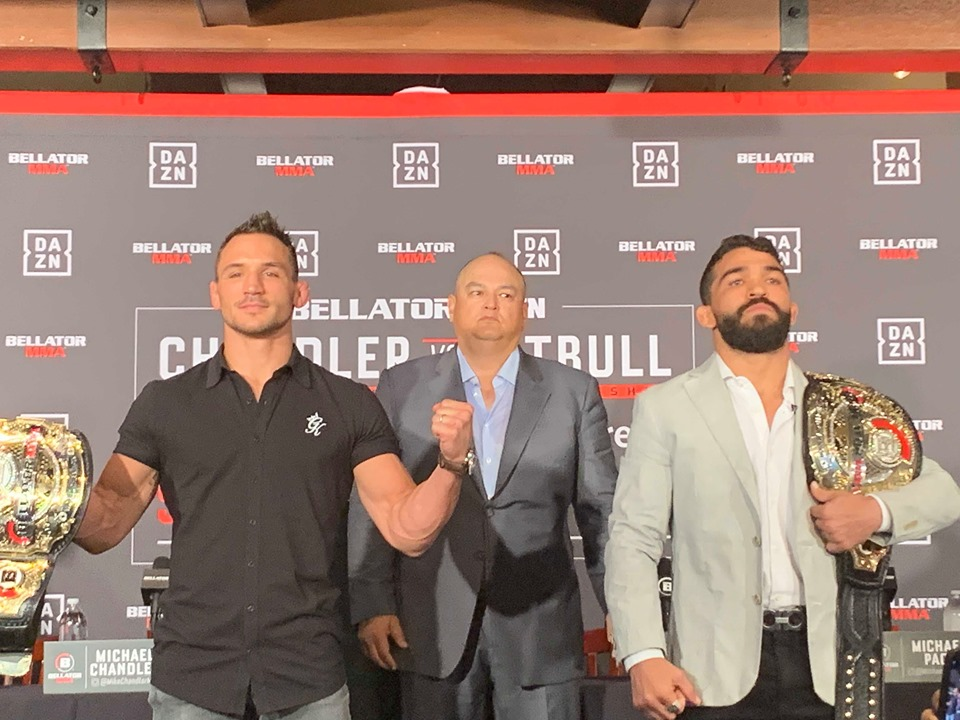 For Michael Chandler, Bellator 221 is just about business and continuing to cement his legacy