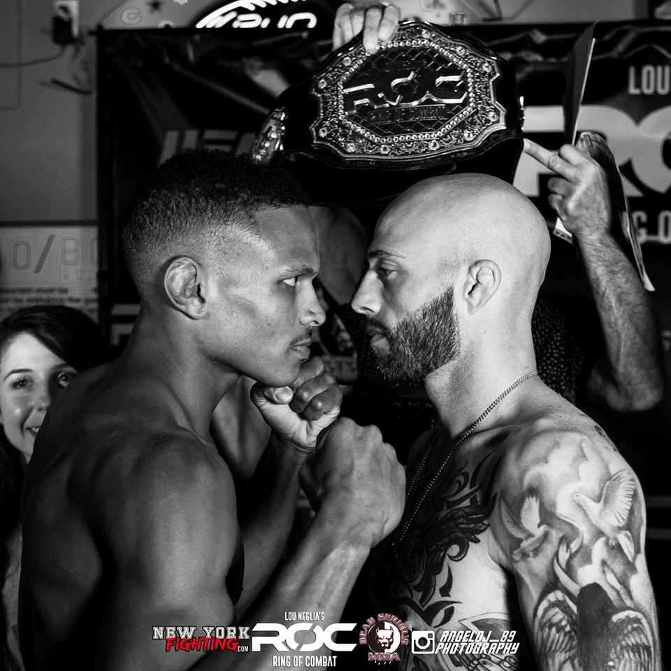 Ring of Combat 68 results - Buenafuente vs. De Jesus for featherweight title
