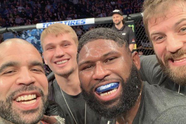 Austin Hubbard curtis Blaydes UFC