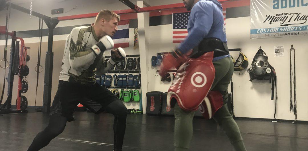 Austin Hubbard UFC with Vinny Lopez