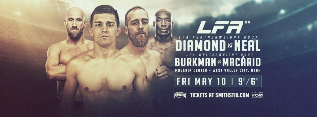 LFA 66 Results - Tyler Diamond vs. Jon Neal