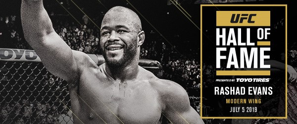 Rashad Evans, UFC Hall of Fame