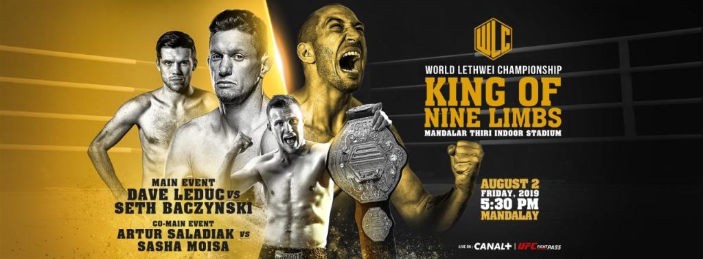 Artur Saladiak defends title at WLC: King of Nine Limbs