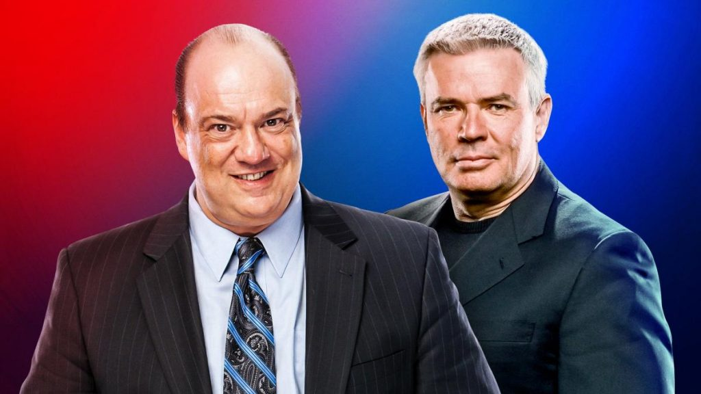 Paul Heyman, Eric Bischoff Named Executive Directors of WWE's Raw and SmackDown LIVE