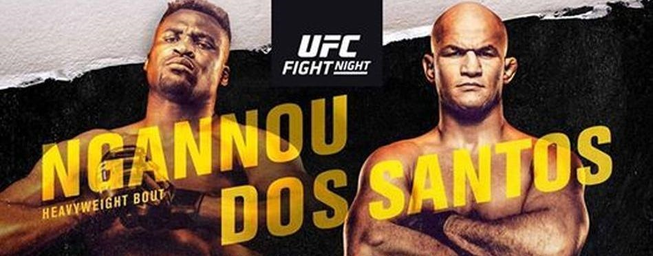 UFC Minneapolis results - Dos Santos vs. Ngannou