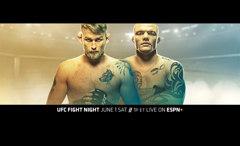 UFC Stockholm Results - Gustafsson vs. Smith