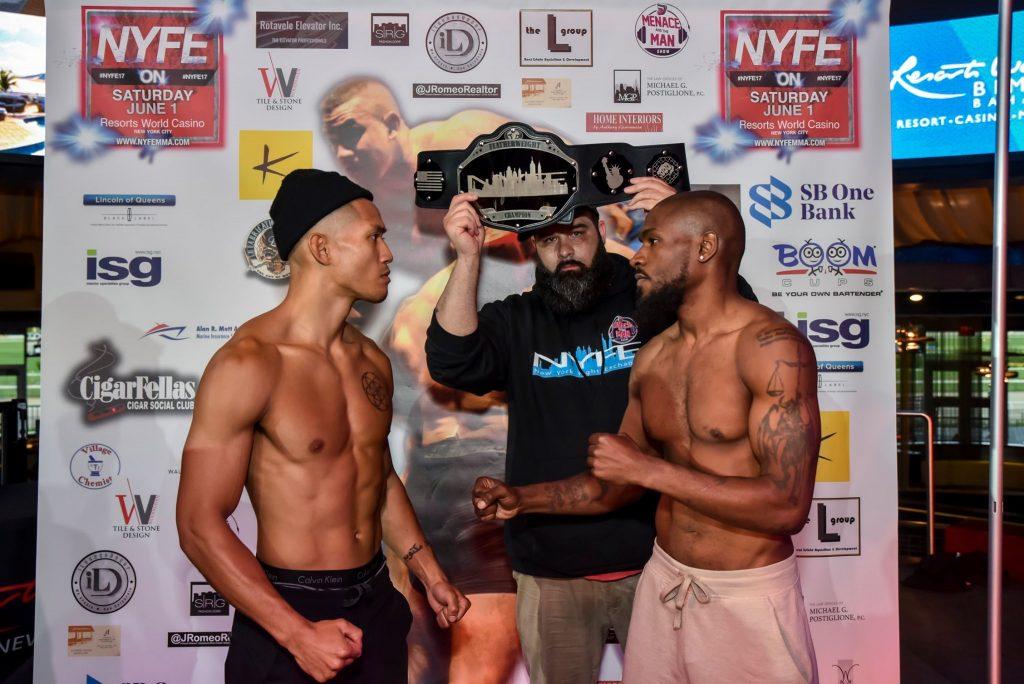 NYFE 17 MMA RESULTS - East vs. Cabrea