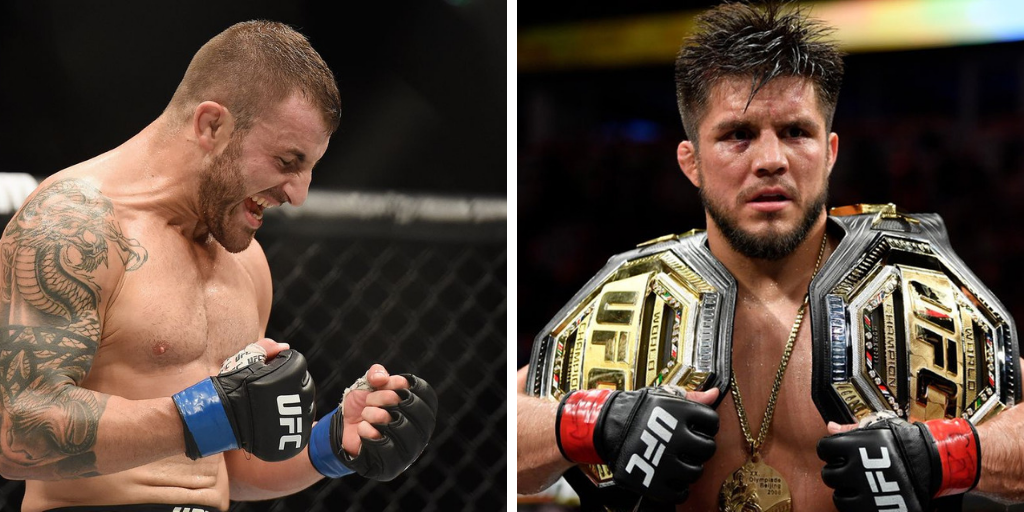 Alex Volkanovski tells Henry Cejudo to 'stay in his lane' after featherweight title talks