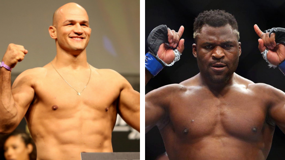 UFC Minneapolis, Junior Dos Santos, Francis Ngannou