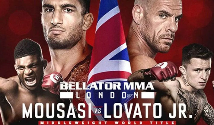 Bellator London Live Results - Mousasi vs. Lovato Jr.