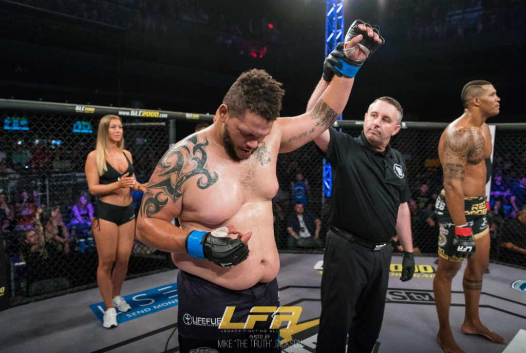 LFA 70 Results, Martin Advances to Heavyweight Tournament Finals by DQ