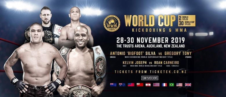 Bigfoot Silva challenges Greg Tony for World Kickboxing Network Super Heavyweight title