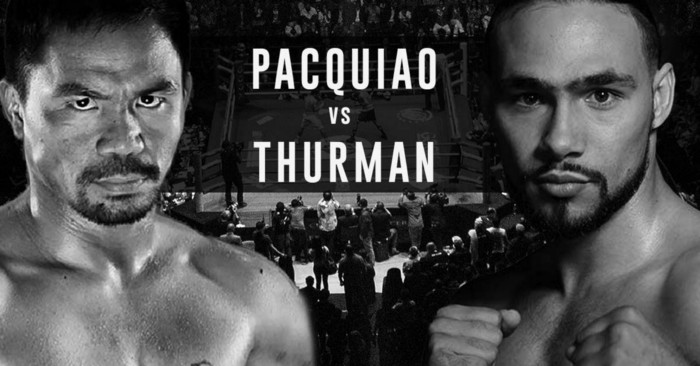 Pacquiao vs Thurman official weigh-in stream - Watch here
