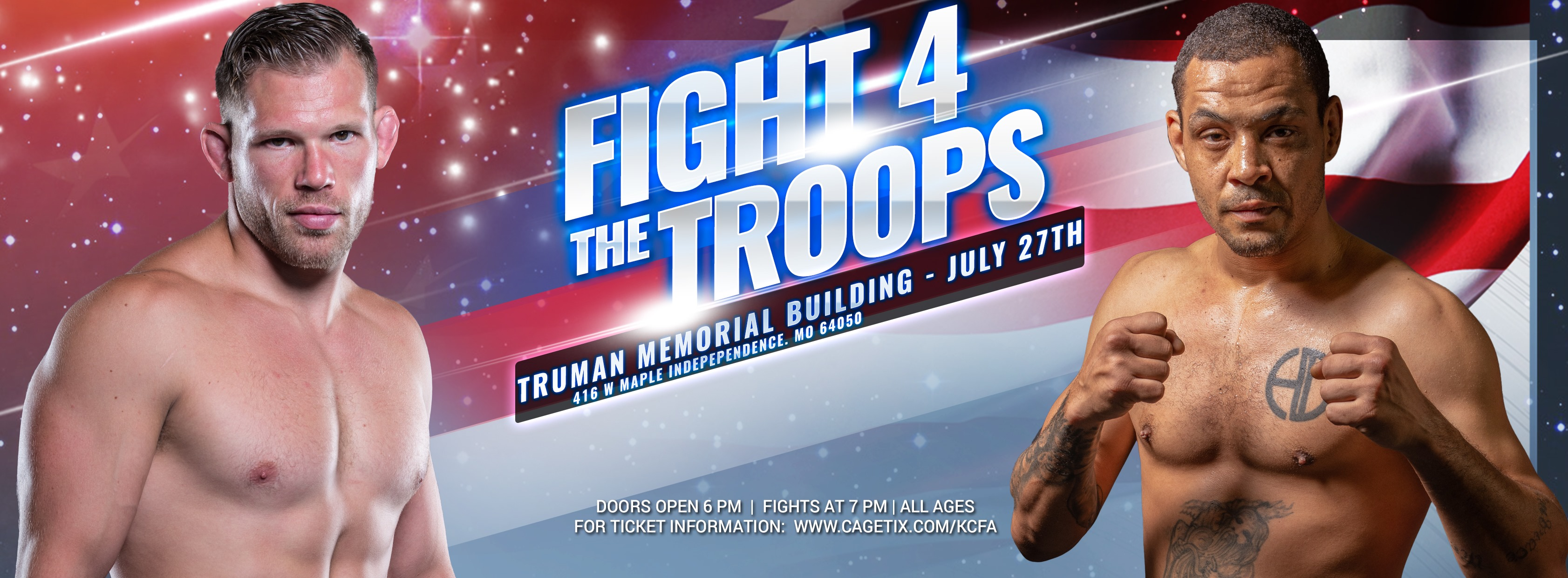 Jason Witt, Fight 4 the Troops, Kansas City Fighting Alliance