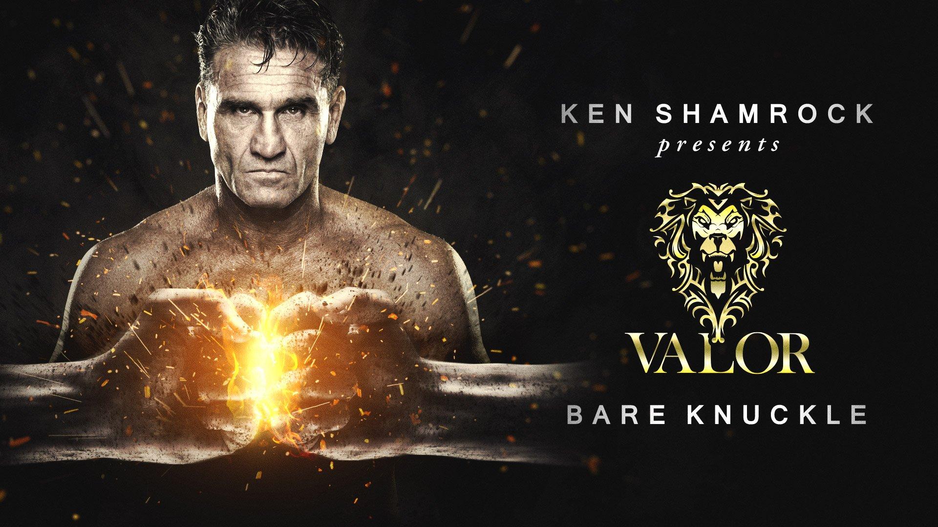 Ken Shamrock and Des Woodruff launch Valor Bare Knuckle Inc.