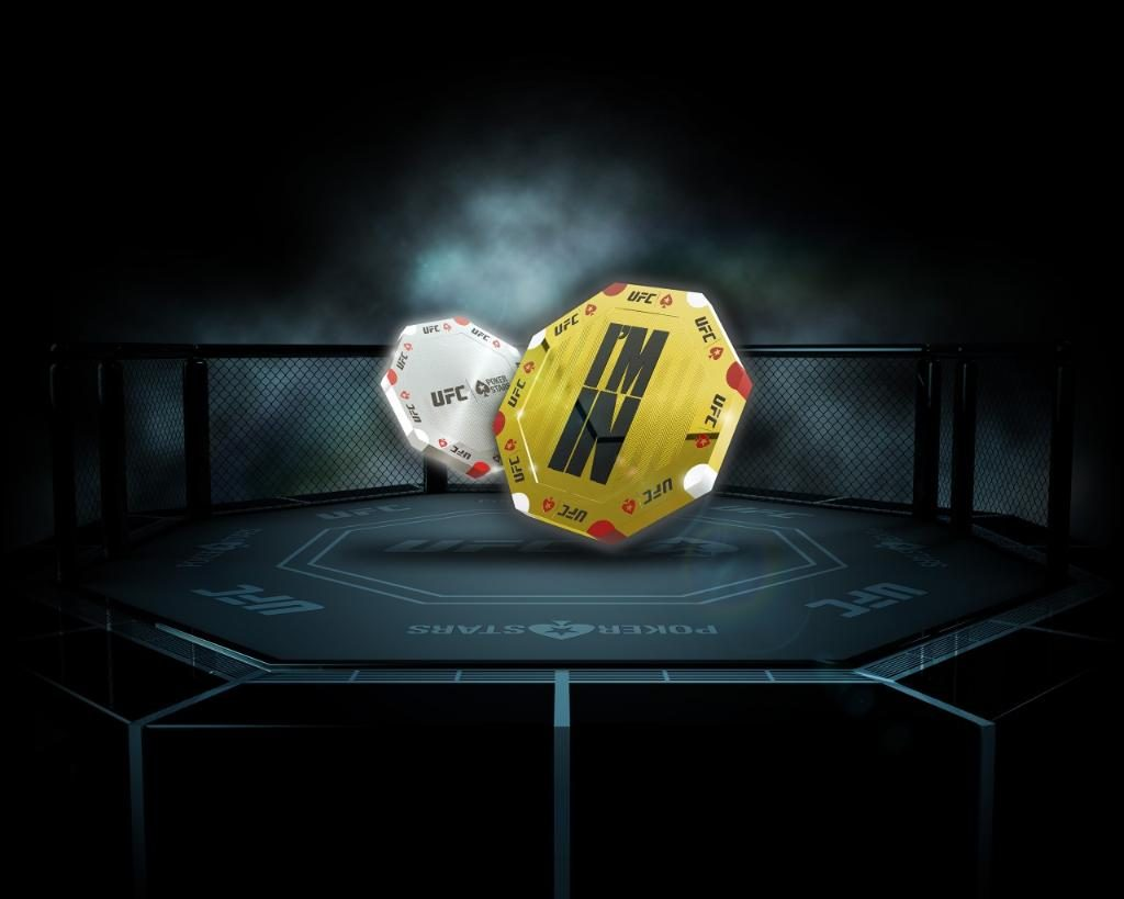 PokerStars and UFC launch Octagon Chip
