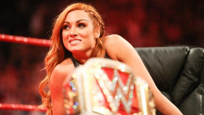 WWE women's wrestler, Becky Lynch