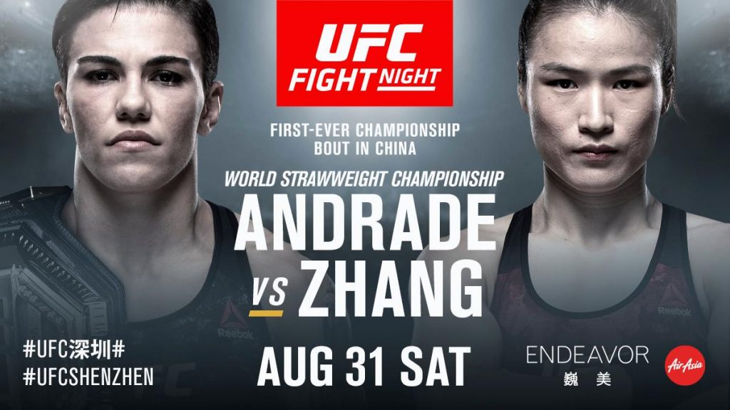 Jessica Andrade Is Defending Her Title Against Weili Zhang