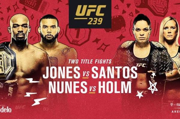 Jones vs. Santos, Nunes vs. Holm: UFC 239 Predictions