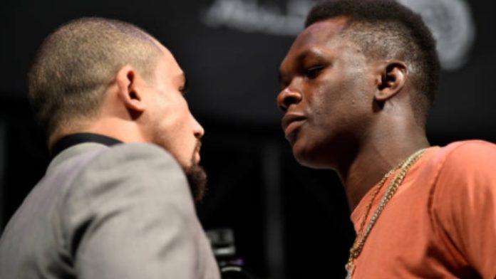 UFC 243, Robert Whittaker, Israel Adesanya
