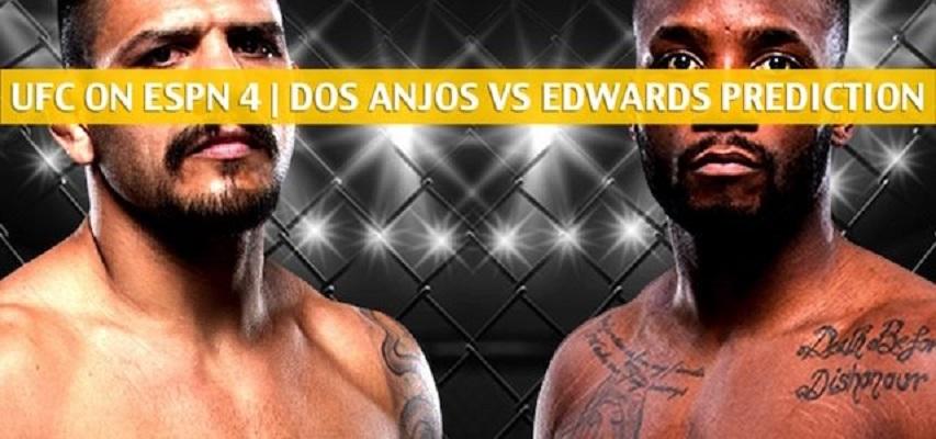 UFC on ESPN 4 Predictions - Rafael Dos Anjos vs. Leon Edwards