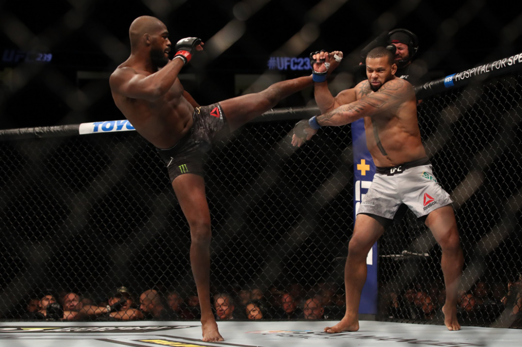 UFC 239 results: Jon Jones picks up split decision over gritty Thiago Santos