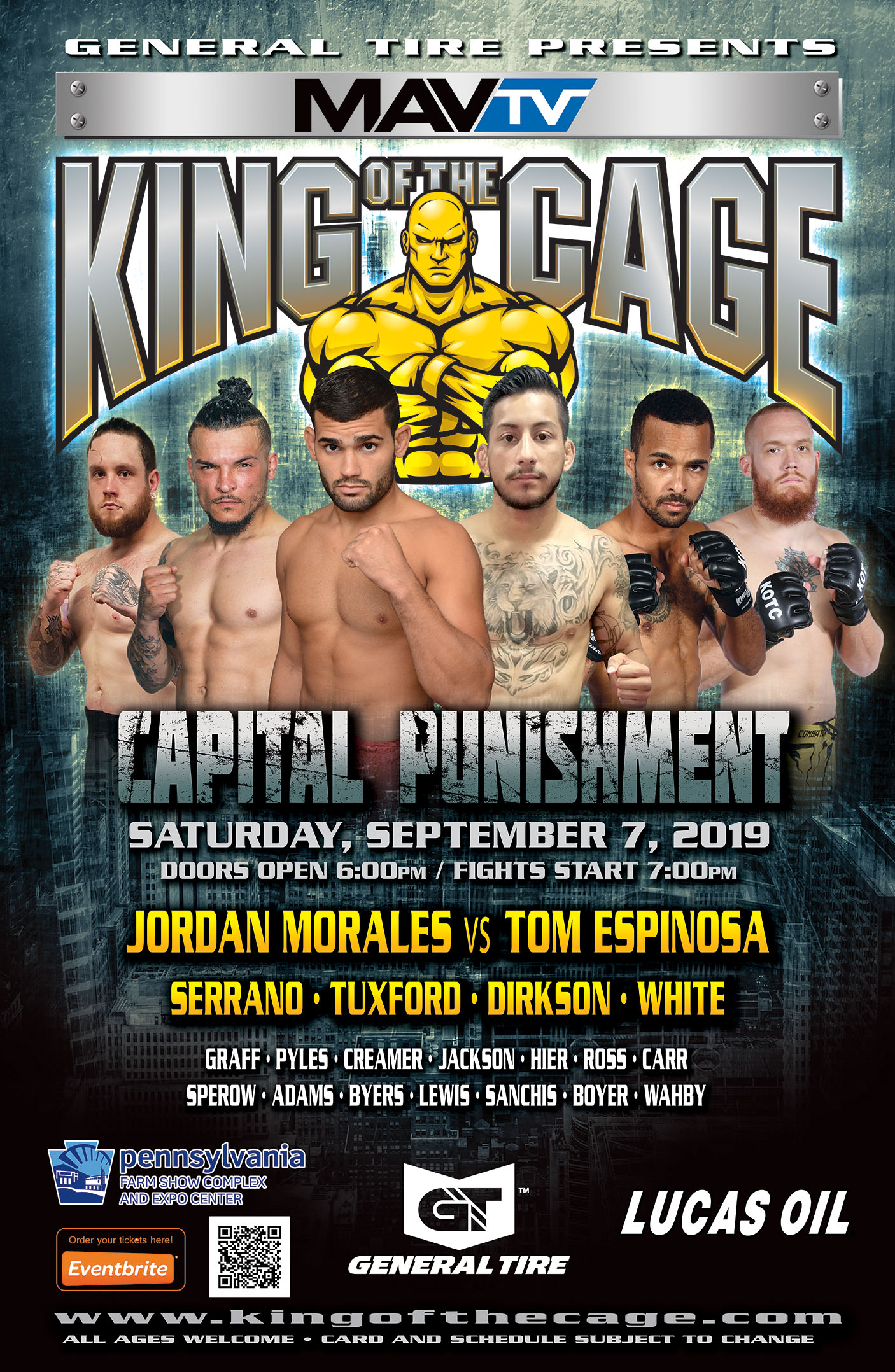 King of the Cage Capital Punishment